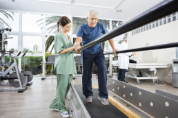 Walking therapy for seniors