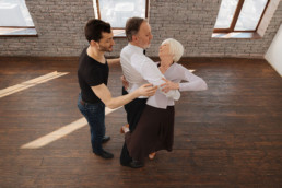 Dancing training for active seniors