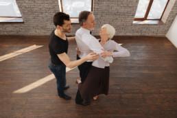 Dancing training for active seniors