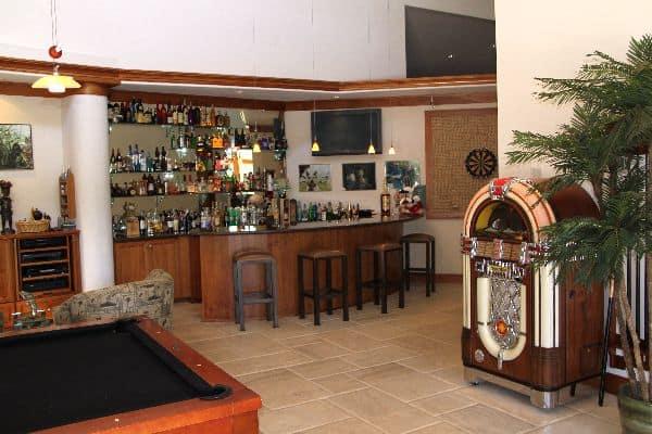 gameroom at Rincon del Rio clubhouse
