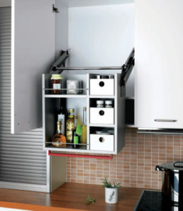 Pull Down cupboard - Universal Design for Seniors