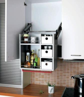 Pull Down cupboard - Universal Design for Seniors