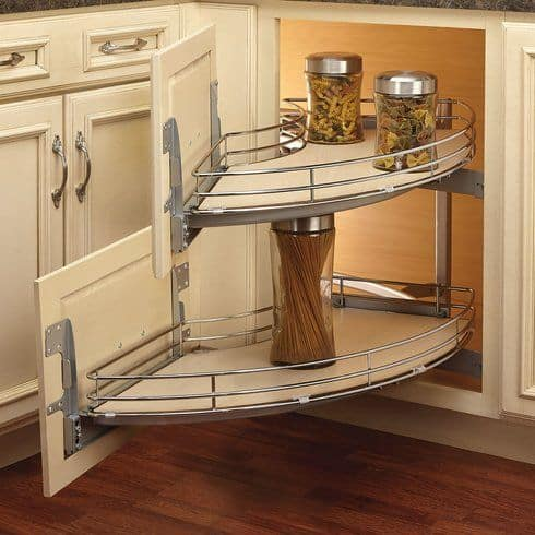 Universal Design - easy-access cabinets