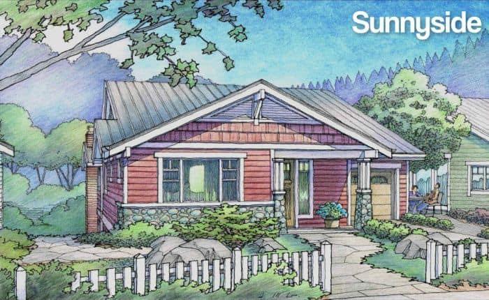 Sunnyside rendering